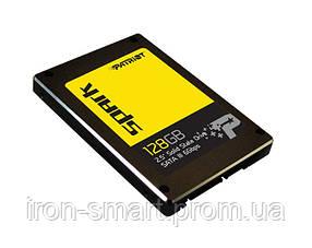 Твердотельный накопитель 128Gb, Patriot Spark, SATA3, 2.5', TLC, 555/500 MB/s (PSK128GS25SSDR)
