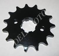 DELTA - зірка ланцюга передня (чорна)  428*15 Т