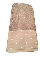Махровое полотенце Gestepe 70-140 см шоколадное, фото 1