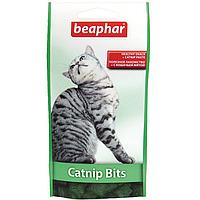 Подушечки Beaphar Catnip Bits с кошачьей мятой для кошек и котят, 150 г