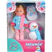 Кукла Evi  и снеговик Simba 5732805