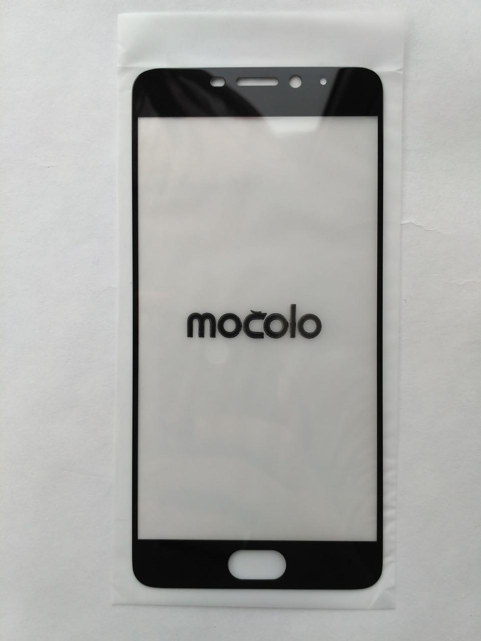 Защитное стекло черное Mocolo для Meizu M5 Note