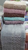 Турецкие махровые полотенца 50х90 см. 100% хлопок. 450 г/м.кв.