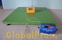 Весы платформенные (торговые, складские) 1500 кг (1,5 т) 1000 х 1000 мм