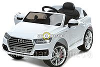Детский электромобиль AUDI Q7 белый (лицензия) , фото 1