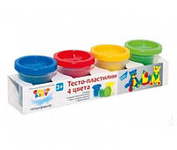 Набор для лепки Genio Kids Тесто-пластилин 4 цвета TA 1010