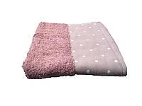 Махровое полотенце Gestepe 50-90 см сливового цвета, фото 1