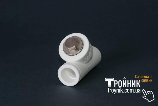 Фильтр грубой очистки ппр 25 ВВ Tebo белый
