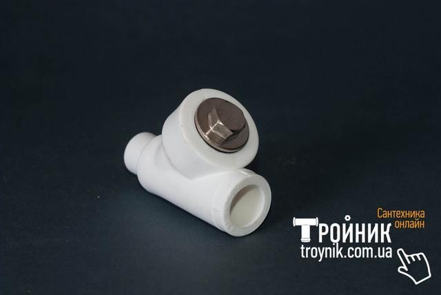 Фильтр грубой очистки ппр 25 НВ Tebo белый
