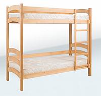 Кровать двухъярусная подростковая (1900*800) (бук)