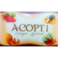 Ассорти шоколадно-фруктовое, 500 г (сухофрукты с орехами, в шоколаде)