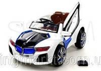 Детский электромобиль BMW i8 (белый) 2 двигателя!, фото 1