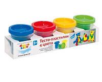 Набор для творчества Genio Kids Тесто для лепки 4 цвета TA1008