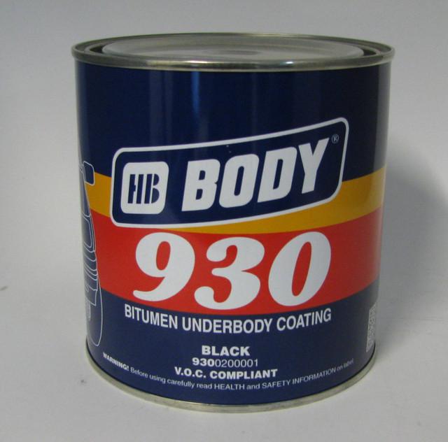 Битумная мастика hb body 930 протексил пропитка обеспыливающая