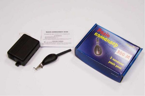 Радиокнопка RADIO COMMANDER 1км (Устройство дистанционного управления, радиус действия до 1000 м)