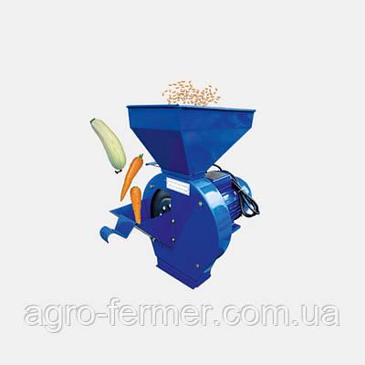 Кормоизмельчитель ДТЗ КР- 03К (зерно + початки кукурузы+овощи+фрукты, производительность 180 кг/ч)