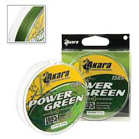 Шнур Akara Power Green 150 м 0,14