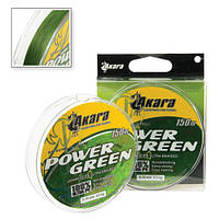 Шнур Akara Power Green 150 м 0,25