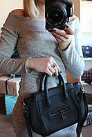Сумка Селин Celine mini без лого . Черный цвет , фото 1