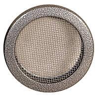 Каминная решетка Parkanex круглая, старое серебро