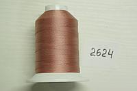 Нить №60 (1000 м.) «Титан» колір 2624 рожевий
