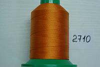 Нить №60 (1000 м.) «Титан» колір 2710 рудий