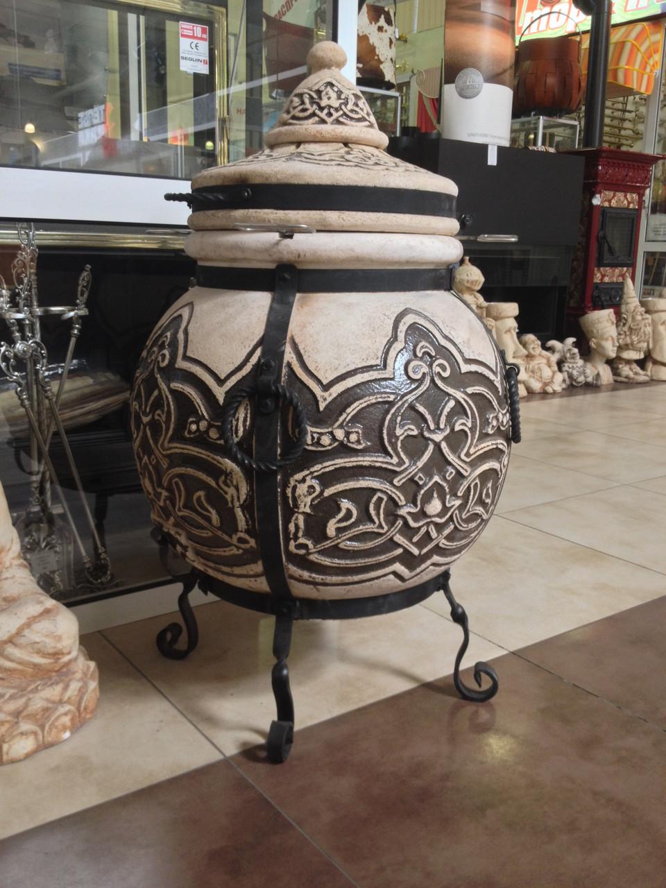 Тандыр №3.5 (шар)(с метал. поддувалом), фото 1