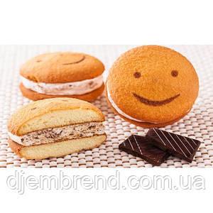 Печенье Хаха-тун (смайлик) с шоколадом, 1,7 кг (2 шт в упаковке)