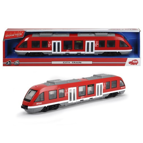 Городской поезд 45 см. Dickie Toys 3748002