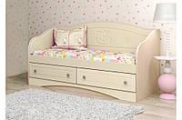 Детский диван Kiddy 3 Вальтер, 140х70, венге+ваниль
