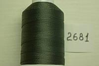 Нить №60 (1000 м.) «Титан» колір 2681 перламутр темносірий