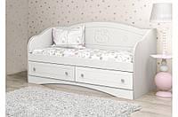 Детский диван Kiddy 3 Вальтер, 140х70, белый