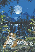 "Набор для творчества камнями ""Лунный тигр"""
