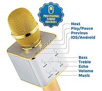 Микрофон Караоке Беспроводной со встроенным динамиком, фото 1