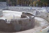 Строительство подпорной стенки из шлакоблока