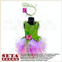 Детские платье Лесная фея, эльф карнавальное