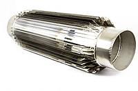 Труба-радиатор дымоходная из нержавеющей стали, 1мм