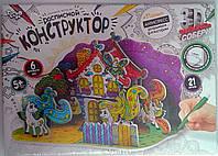 Пазлы 3Д Бумажный Расписной конструктор Пони 3DK-01-02 Danko-Toys Украина