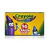 96 цветных восковых мелков карандашей, Crayola