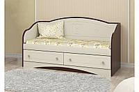 Детский диван Мишка 5 Вальтер, 190х90, орех+ваниль