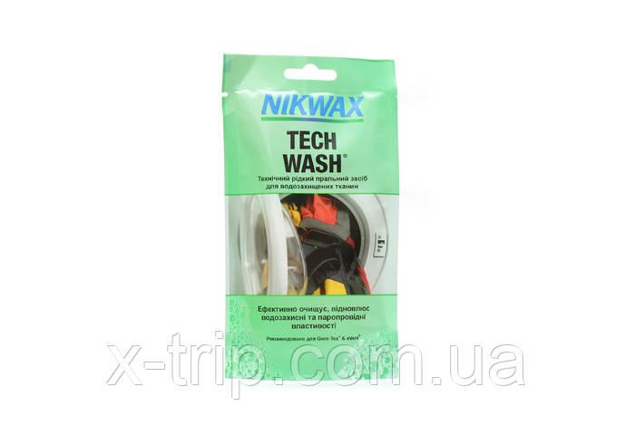 Средство для стирки мембраны Nikwax Tech Wash Pouch 100 ml