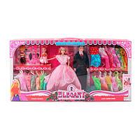 Игровой набор кукол с аксессуарами «Семья» 055A