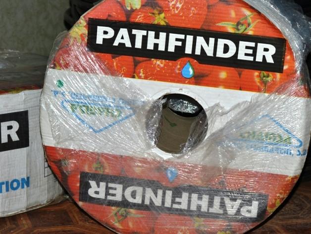 Капельная лента Pathfinder 5mil  эмитерная 20 см 4000 м/пог, водовылив  5,1 л/ч