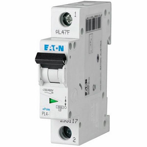 Автоматический выключатель EATON PL4-B6/1 (293113)