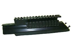 Тактическая система планок SHAN на АК-74 матовая