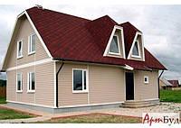 Каркасный дачный дом под ключ недорого