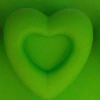 Силиконовая форма Двойное сердце