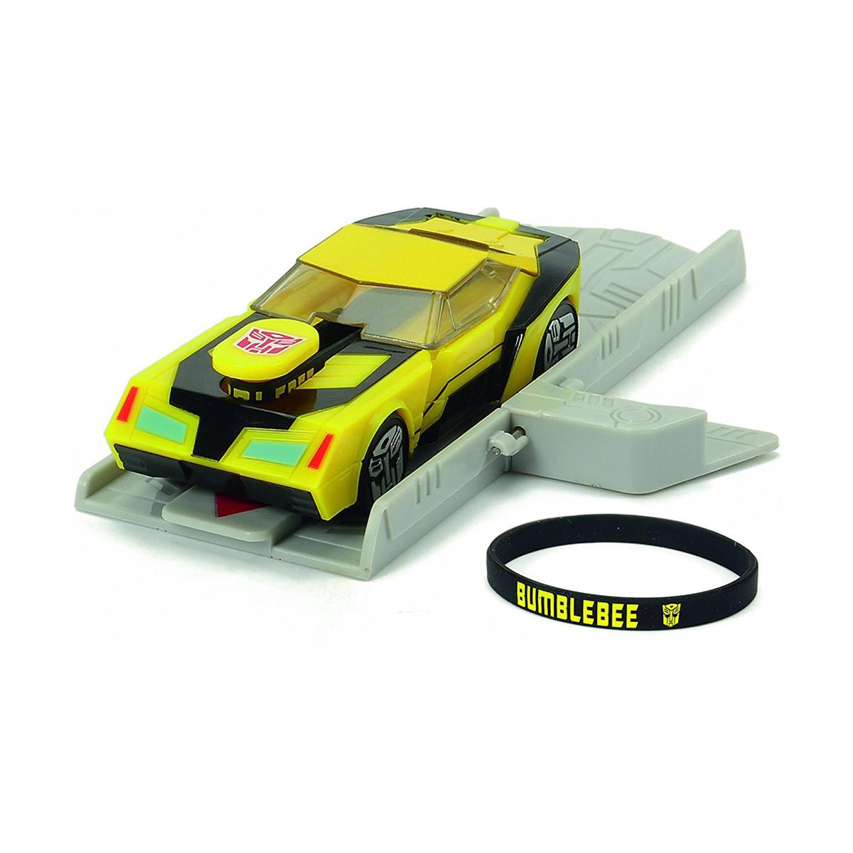 Автомобиль Трансформер. Миссия Бамблби с пусковой платформой, 11 см «Dickie Toys» (3112001)