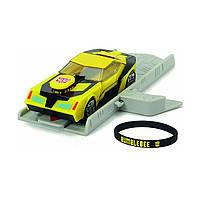 Игрушечные машинки и техника «Dickie Toys» (3112001) автомобиль Трансформер. Миссия Бамблби с пусковой платформой, 11 см