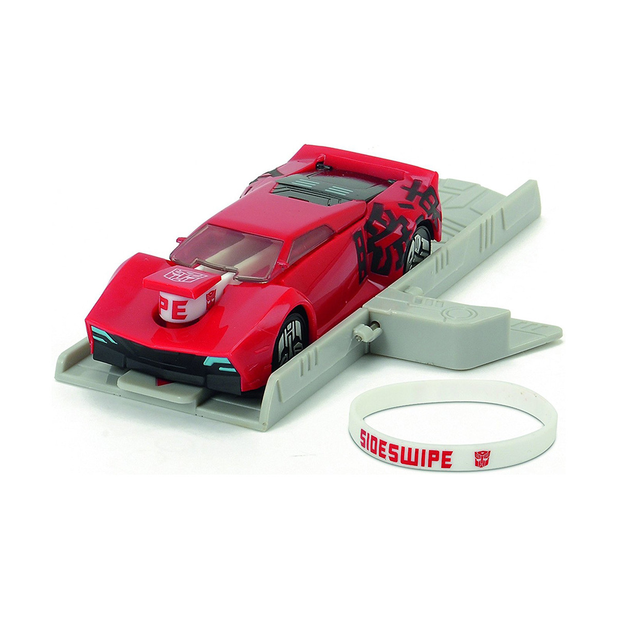 Автомобіль-Трансформер. Місія Сайдсвайп з пусковий платформою, 11 см «Dickie Toys» (3112002)
